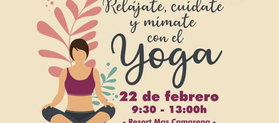 Taller-de-yoga-Resort-Mas-Camarena